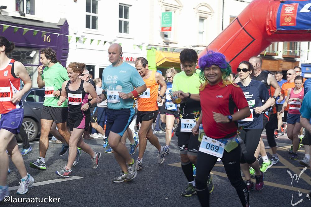 Longford Marathon start