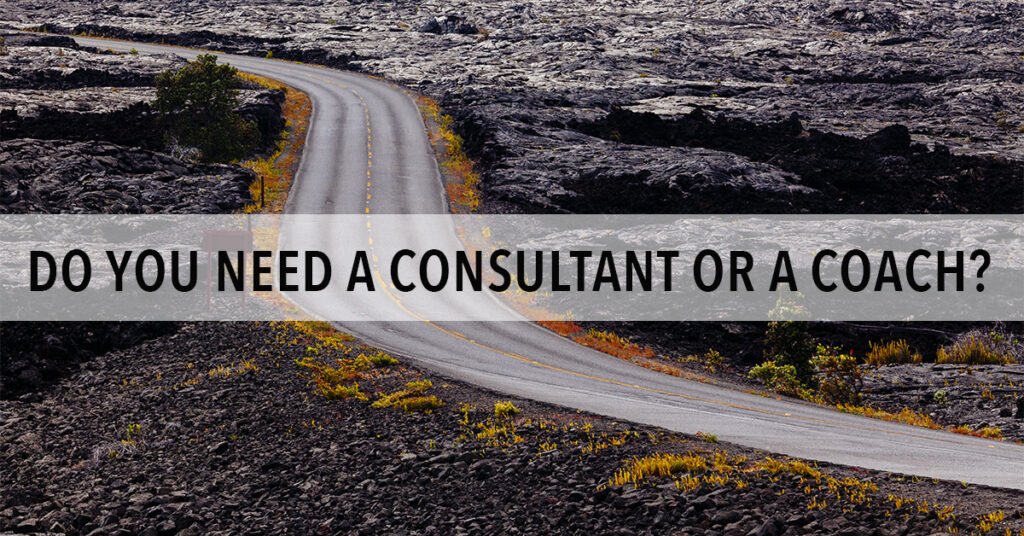 Do You Need a Consultant or a Coach to Grow Your Business?