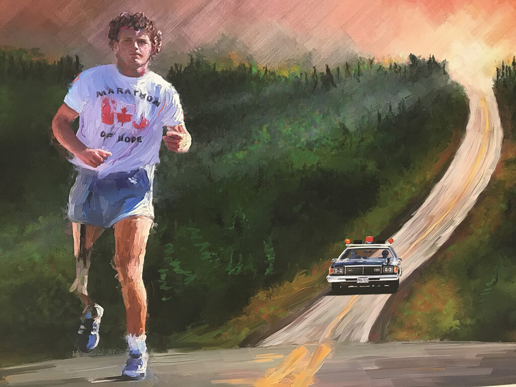 Canada 150 Terry Fox 50 at 150