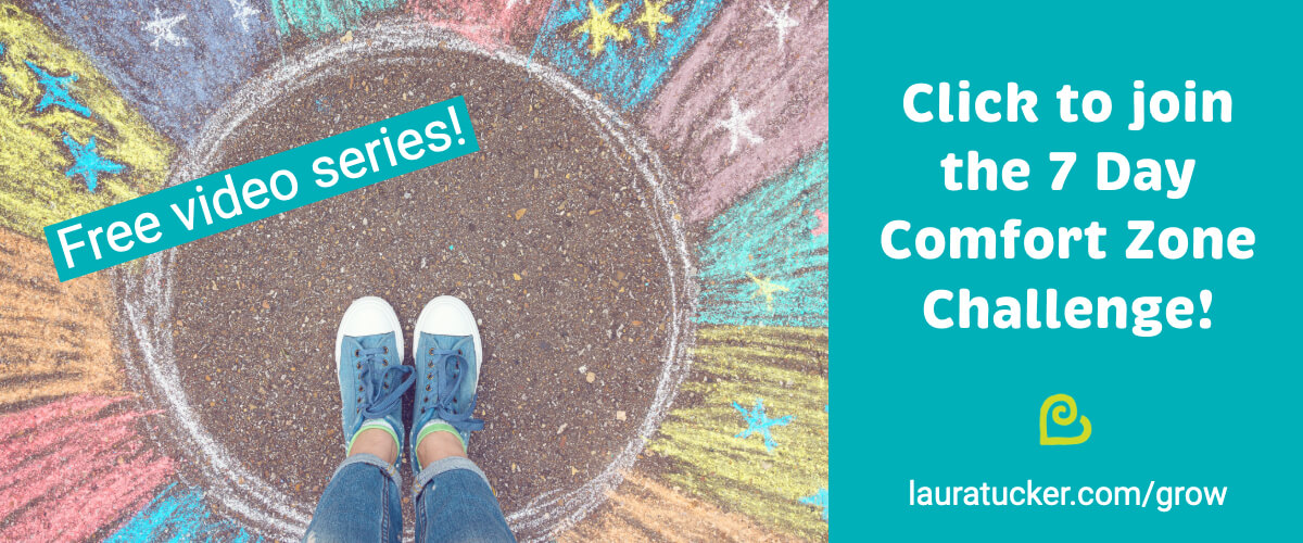 Click to join the 7 Day Comfort Zone Challenge!
