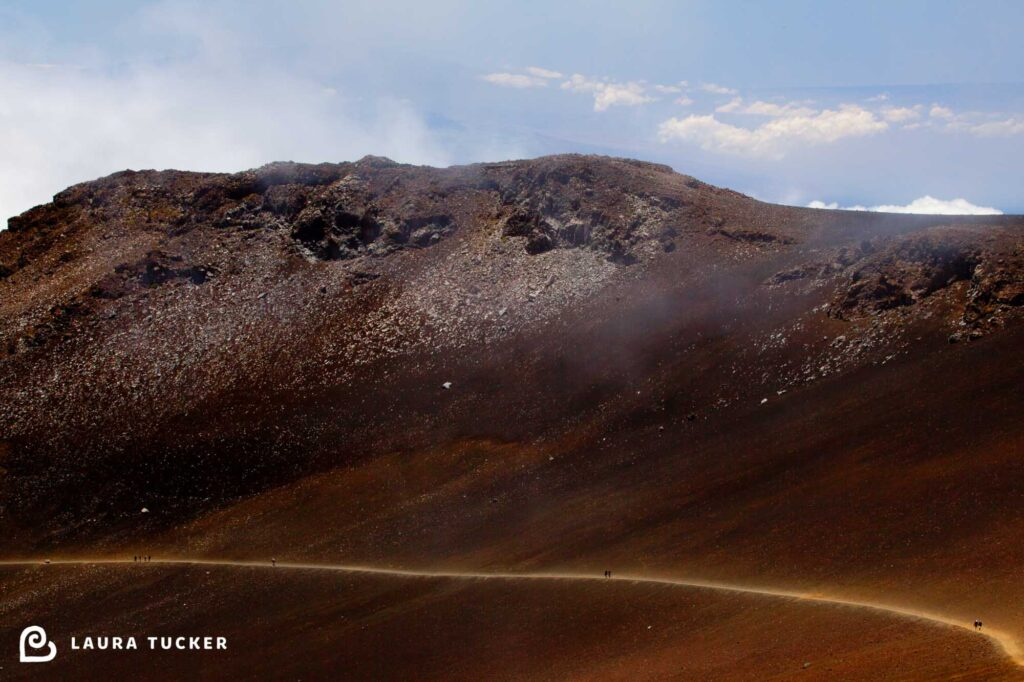 Sliding Sands Trail Haleakala Maui Detours and Adjustments