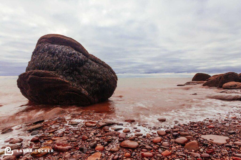 The Blob Rock Atlantic Ocean St Martins New Brunswick
